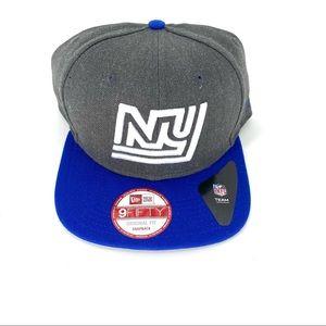 9fifty Men's New Era NY Snapback Cap Original Fit